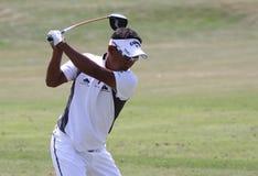 Tongchai Jaidee bij golf het Frans opent 2010 Royalty-vrije Stock Foto's