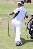 Tongchai Jaidee bij golf het Frans opent 2010 Royalty-vrije Stock Fotografie