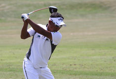 Tongchai Jaidee at golf French Open 2010 Royalty Free Stock Photos