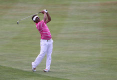 Tongchai Jaidee at the golf french open 2015 Royalty Free Stock Photos