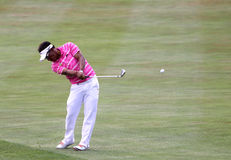 Tongchai Jaidee at the golf french open 2015 Royalty Free Stock Photography