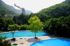 Tongjingzhen Spa het waterrecreatie c van de Toevlucht wentang Royalty-vrije Stock Fotografie