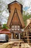 Tongkonan traditional rice barn Royalty Free Stock Photography