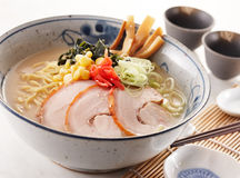 Tongkotsu ramen Royalty Free Stock Image