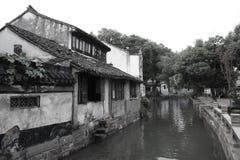 Tongli, китайский городок воды Стоковые Фото