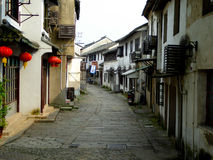 Tongli ancient town alley Royalty Free Stock Photography