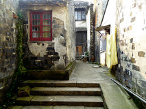 Tongli ancient town alley royalty free stock photos