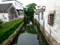 Tongli ancient town buildings Royalty Free Stock Photo