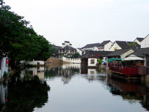 Tongli ancient water town buildings Stock Image