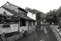 Tongli, Chinese water town Stock Photos