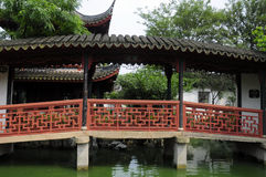 Tongli Pearl Pagoda Bridge Royalty Free Stock Photography