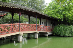 Tongli Pearl Pagoda Garden Bridge Royalty Free Stock Images