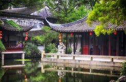 Tongli Pearl Pagoda Scenic Area China stock images