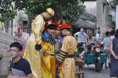 Tongli Town China Cosplay Stock Images