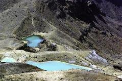 Tongrario Alpine Crossing - Lakes Stock Images