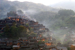 Tongren Guizhou Xijiang Arkivfoton