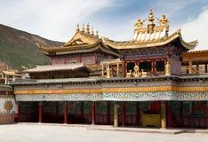 Tongren-Kloster oder Longwu-Kloster, China stockbild