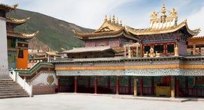 Tongren-Kloster oder Longwu-Kloster, China lizenzfreie stockfotografie