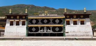 Tongren monaster lub Longwu monaster Obraz Royalty Free