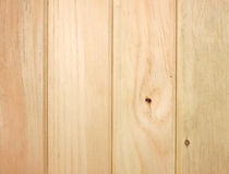 Tongue and groove pine boards Royalty Free Stock Photography