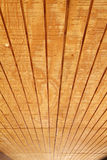 Tongue and Groove Wood Ceiling Royalty Free Stock Images