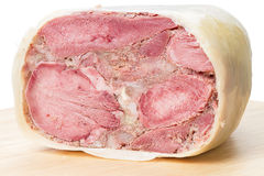 Tongue headcheese Royalty Free Stock Images