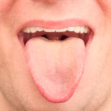 Tongue Royalty Free Stock Photo