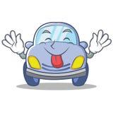 Tongue out cute car character cartoon Royalty Free Stock Photo