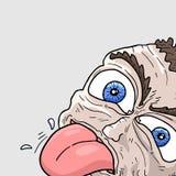 Tongue out man Royalty Free Stock Photo