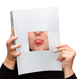 Tongue Sticking Out Royalty Free Stock Photography