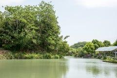 Tongxin lake scenery Royalty Free Stock Images