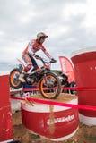 Toni Bou bij Spaans Nationaal Proefkampioenschap Stock Foto