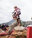 Toni Bou bij Spaans Nationaal Proefkampioenschap Stock Foto's
