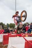Toni Bou bij Spaans Nationaal Proefkampioenschap Stock Fotografie