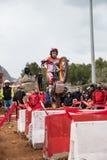 Toni Bou an der spanischen nationalen Probemeisterschaft Lizenzfreie Stockbilder