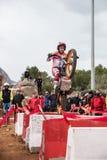 Toni Bou an der spanischen nationalen Probemeisterschaft Stockfotos