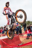 Toni Bou at Spanish National Trial Championship Stock Photo