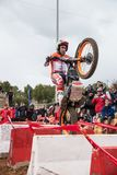 Toni Bou at Spanish National Trial Championship Stock Photography
