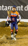 Toni Bou with trophy Stock Image
