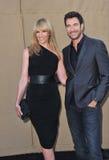 Toni Collette & Dylan McDermott Stock Photos
