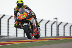Toni ELIAS. Forward Racing. Grand Prix Movistar of Aragón Royalty Free Stock Photos