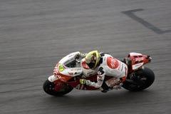 Toni Elias motorcycle racer  Royalty Free Stock Photo