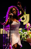 Toni Green on stage at Umbria Jazz Festival. Stock Image