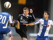 Toni Kroos (C) av Real Madrid Fotografering för Bildbyråer