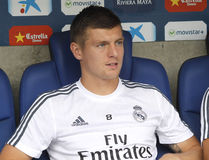 Toni Kroos manager of Real Madrid Stock Photography