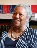 Toni Morrison - ganhador do prémio dos E.U. Nobel Fotografia de Stock Royalty Free