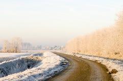 Toni pastelli di inverno Fotografie Stock
