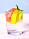 Tonic lemonade with grapefruit, lemon and lime Royalty Free Stock Photography