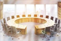 Tonificação da sala de conferências NY Foto de Stock