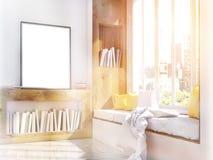 Tonificação do assento de quadro e de janela Fotografia de Stock Royalty Free